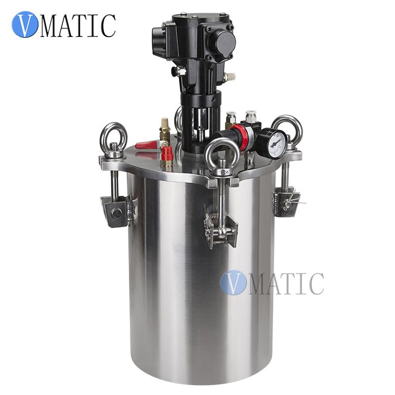 Free Shipping Pneumatic Mixing Stainless Steel Air Pressure Glue Dispensing Pressure Tank/Pressure Container