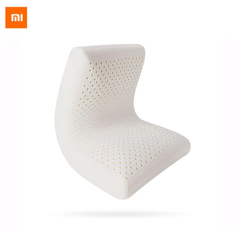 Oreiller d'origine Xiaomi 8 H Z1 latex naturel avec taie d'oreiller meilleur matériau respectueux de l'environnement oreiller Z1 santé bon sommeil