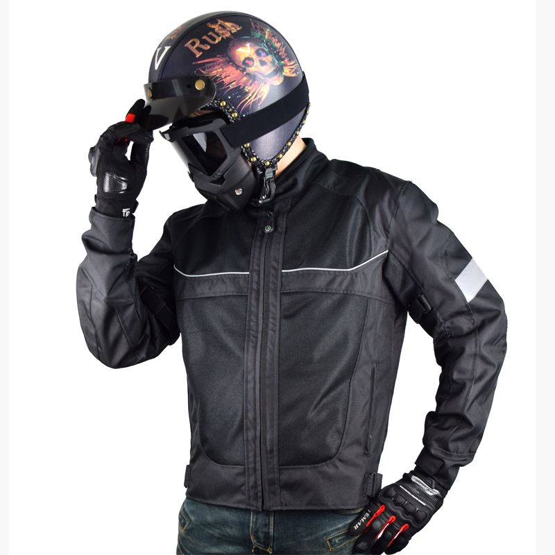 NEW Motorcycle Jackets Men moto GP motocross motorbike Racing Jacket OXFORD Riding Jersey summer breathable Reflective clothes