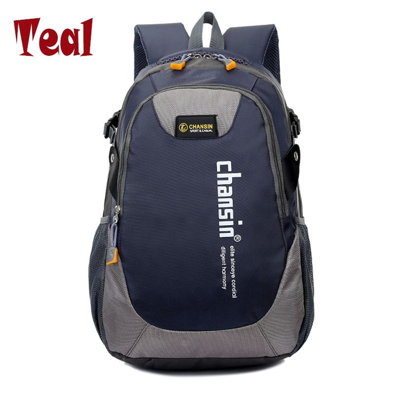 2018 Hot <font><b>Sell</b></font> Male Backpacks School Bag Boys For Teenagers Chain Oxford Waterproof Backpack Men Backpack Casual Nylon backpacks