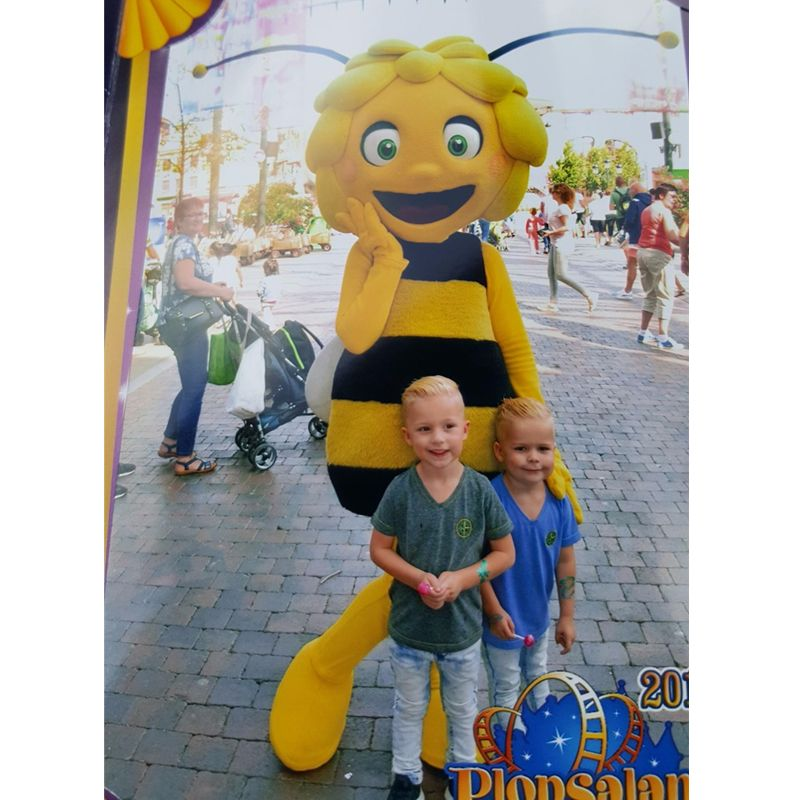character Maya bee mascot costume hot sale girl's bee costumes with free shippng