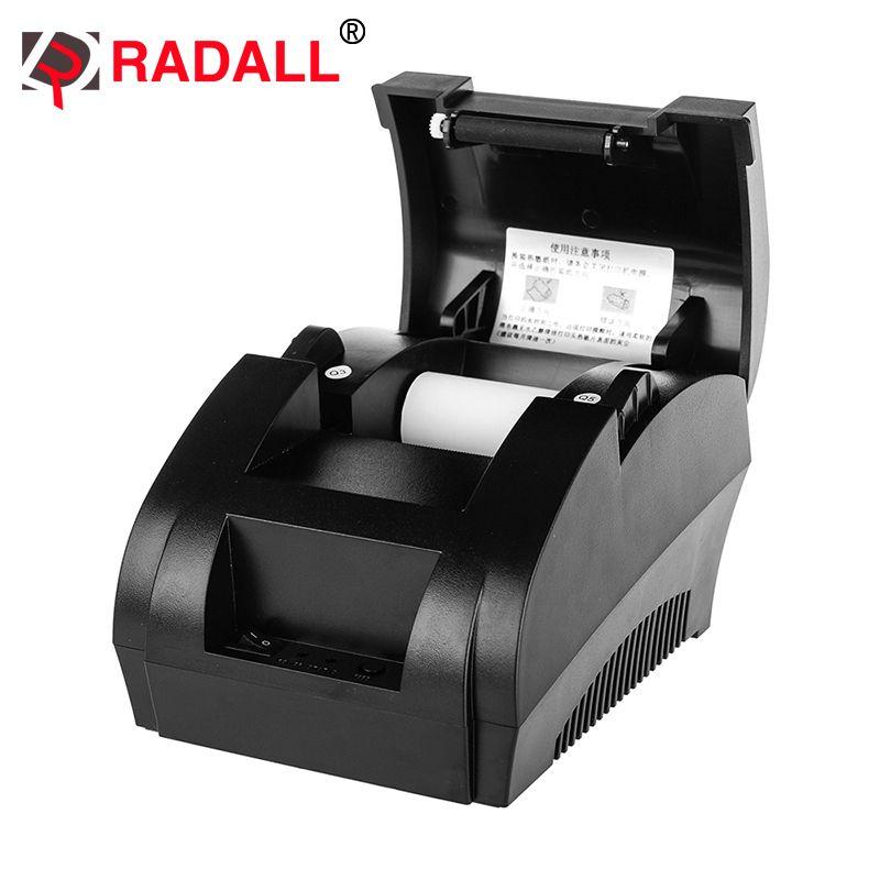 RD-5890K 58mm thermique reçu imprimante Portable pas cher POS ticket intégré 58mm USB papier rouleau pour Restaurant et supermarché