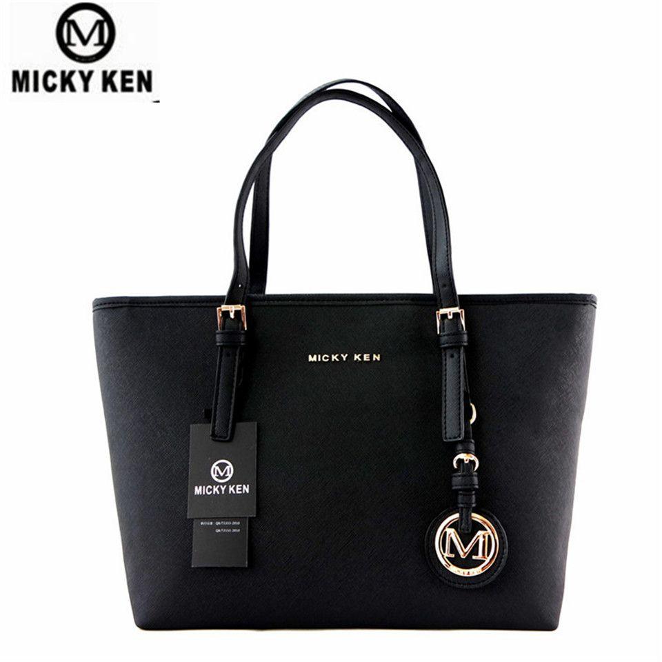MICKY KEN Marque nouvelle 2017 femmes sacs à main grand pu en cuir de haute qualité lettre femelle sac designer bolsos mujer sac un principal totes
