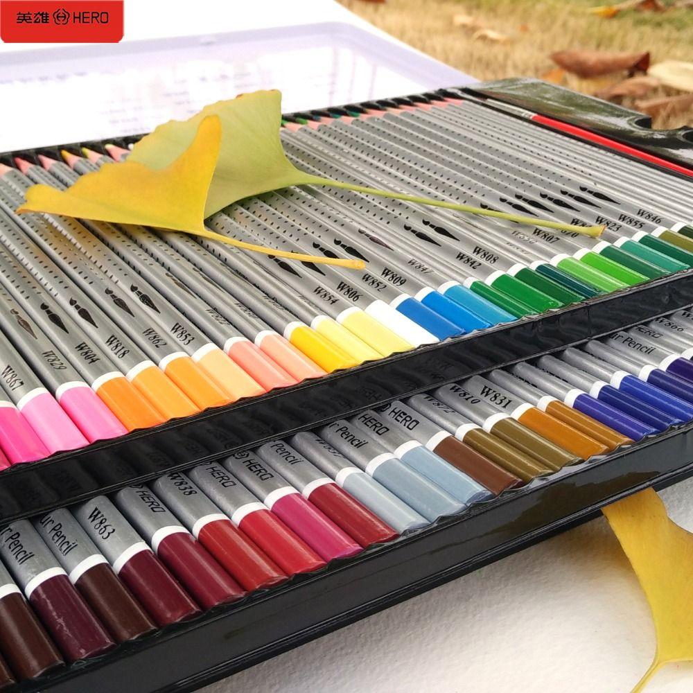 72 crayons de couleur aquarelle crayons de couleurs Profesionales 36/48/60/72 crayons de couleur pour Art fournitures scolaires papeterie