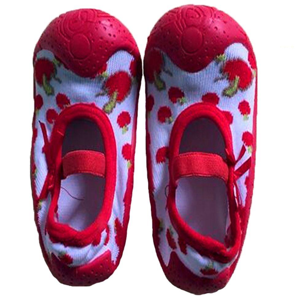 Kidadndy новорожденных Весна Детские носки с резиновой подошвой Детские носки нескользящие сначала walkes ws405ll