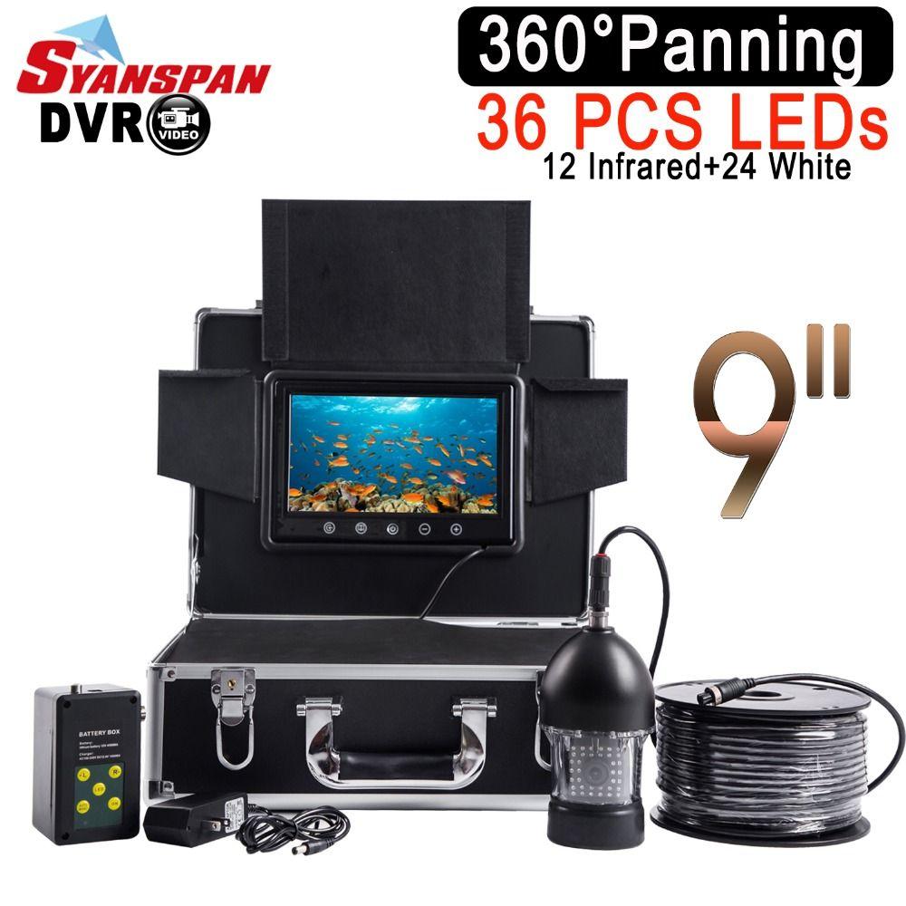 SYANSPAN Waterproof DVR Fish Finder 9
