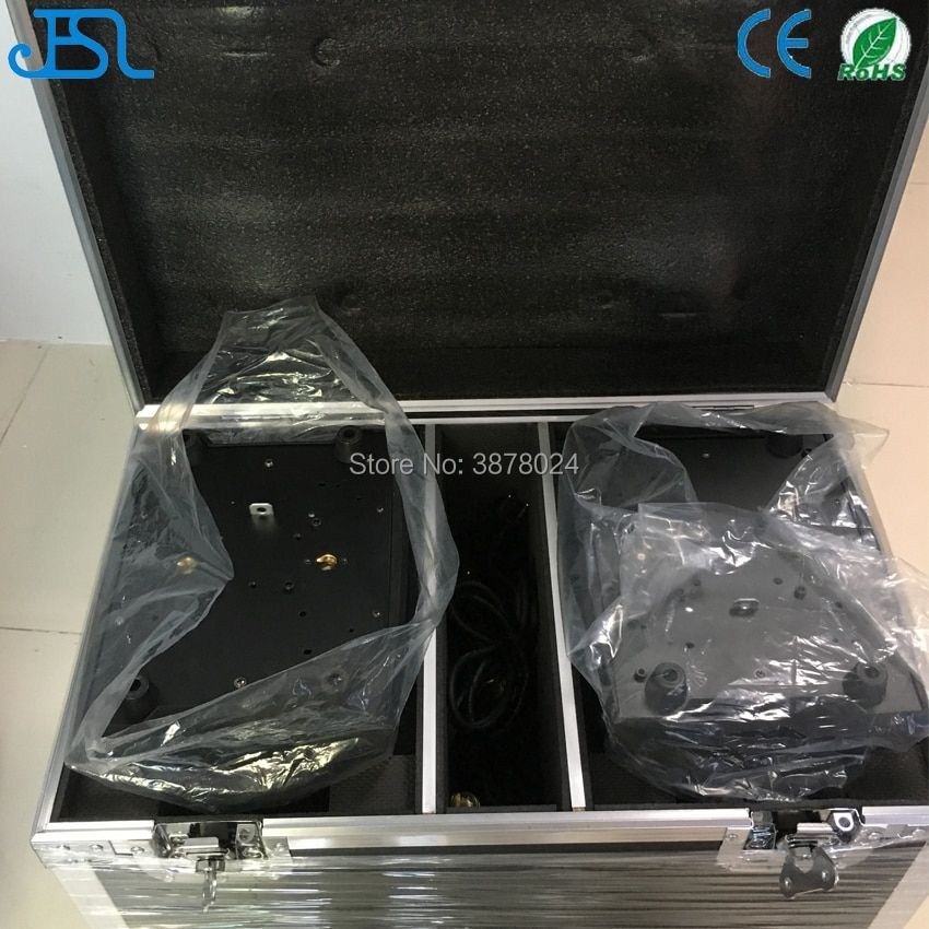Free Shipping 36X10W Led Moving Head Light RGBW 4IN1 Zoom Led Moving Head Wash Beam Effect Light DMX512 with 2in1 flight case