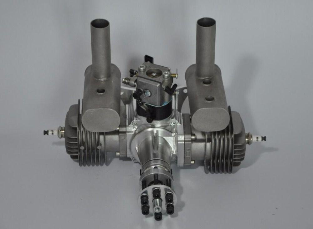 RCGF 60cc Dual / Twin Cylinder Petrol / Gasoline Engine for RC Model Airplane