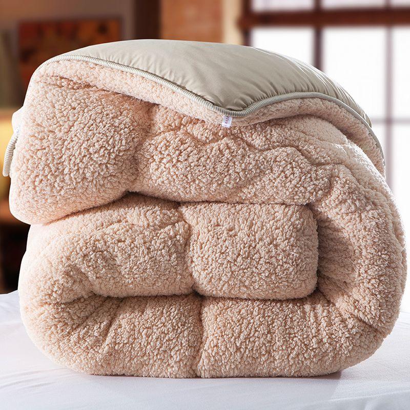 Winter qulit 200*230 cm 3.5kgs decke kamel Fleece bettdecke edredon dicke decke bettdecke colcha comoforter bettdecke