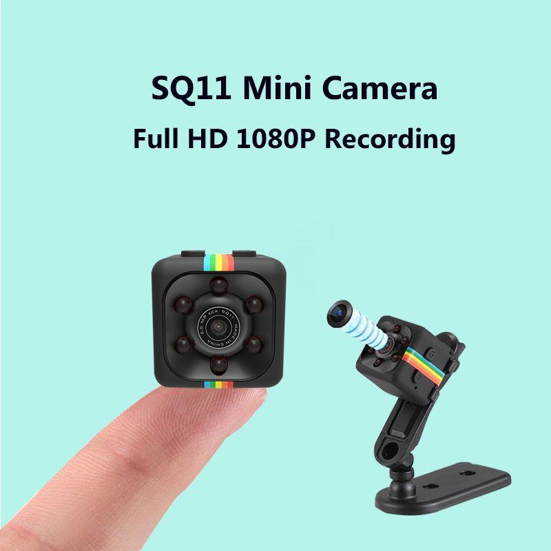 SQ11 Mini Camera Full HD 1080P 720P Night Vision Micro Camera Motion Detection DV DVR Mini Camcorder Video Voice Recorder