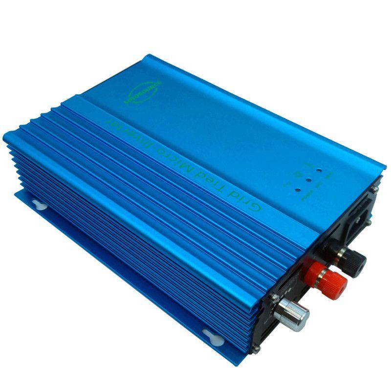 500 watt 12 v netzgekoppelte wechselrichter für PV DC eingang 16 v-28 v Für 12 V Batterie entladung Batterie energierückgewinnung Einstellbare Leistung