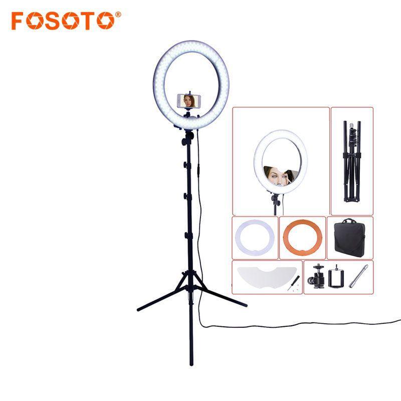 fosoto Camera Photo/Studio/Phone/Video RL-18