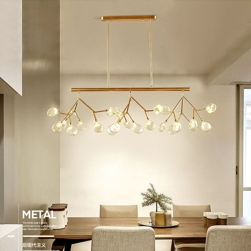 Led Modern Chandeliers Lamp For Living Room Bedroom Lamparas Colgantes Nordic Lustre Luminaire Industrial Lighting Fixtures