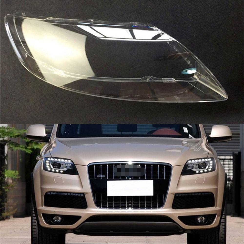 Für Audi Q7 2006 2007 2008 2009 2010 2011 2012 2013 2014 2015 Auto Scheinwerfer Scheinwerfer Klar Objektiv Auto Shell abdeckung