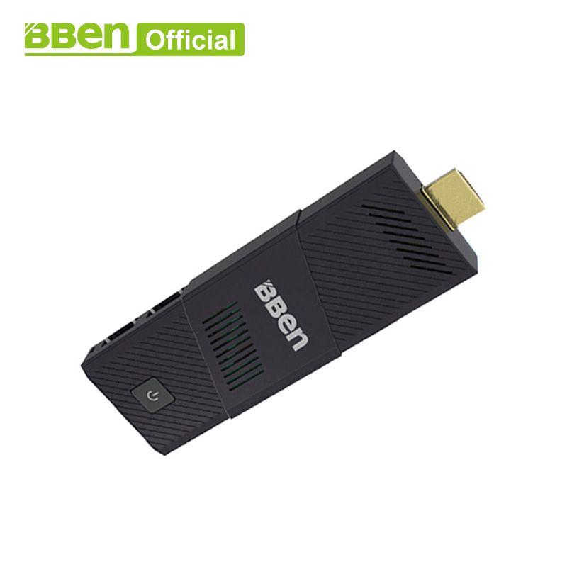 Bben MN9 4GB/64GB mini computer stick ,built in Cooling Fan , quad core intel z8350 windows10 Ubuntu mini pc stick