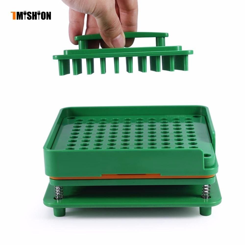 Professional 100 Holes Capsule Powder Maker 00# pharmaceutical Filler Plate Manual Filling Capsules Machine Tool