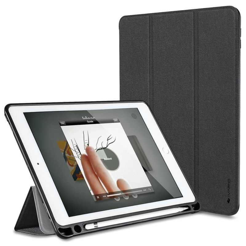 For iPad Pro 10.5 Case PU Leather Slim Smart <font><b>Cover</b></font> With Pencil Holder Auto Sleep/Wake For Apple iPad Pro 10. 5 inch 2017 New
