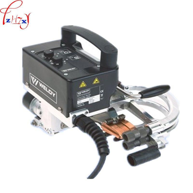 Tragbare Erdarbeiten Membran Schweißen Maschine Keil Mini Schweißen Maschine Schweißen Geomembrane Ausrüstung 220 V 800 W