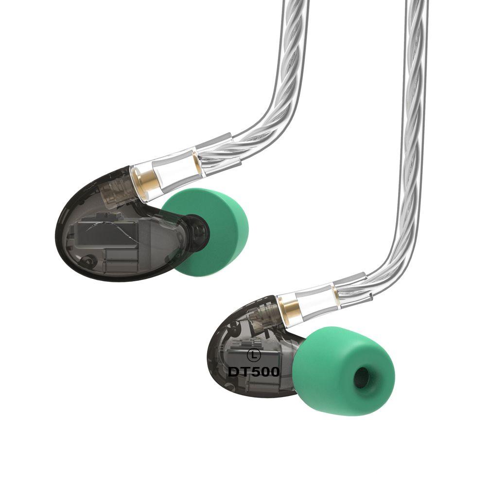 2018 NICEHCK DT500 5BA Drive In Ear Earphone 5 Balanced Armature Detachable Detach MMCX Cable Fever HIFI Monitor Sports Earphone