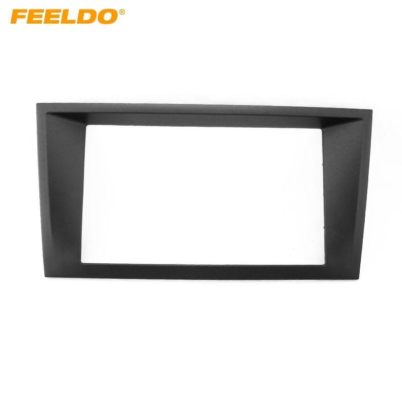 FEELDO 2DIN Car Refitting Radio Stereo DVD Frame Fascia Dash Panel Installation Kits For Ford Mondeo(2000~2007) #FD-1619