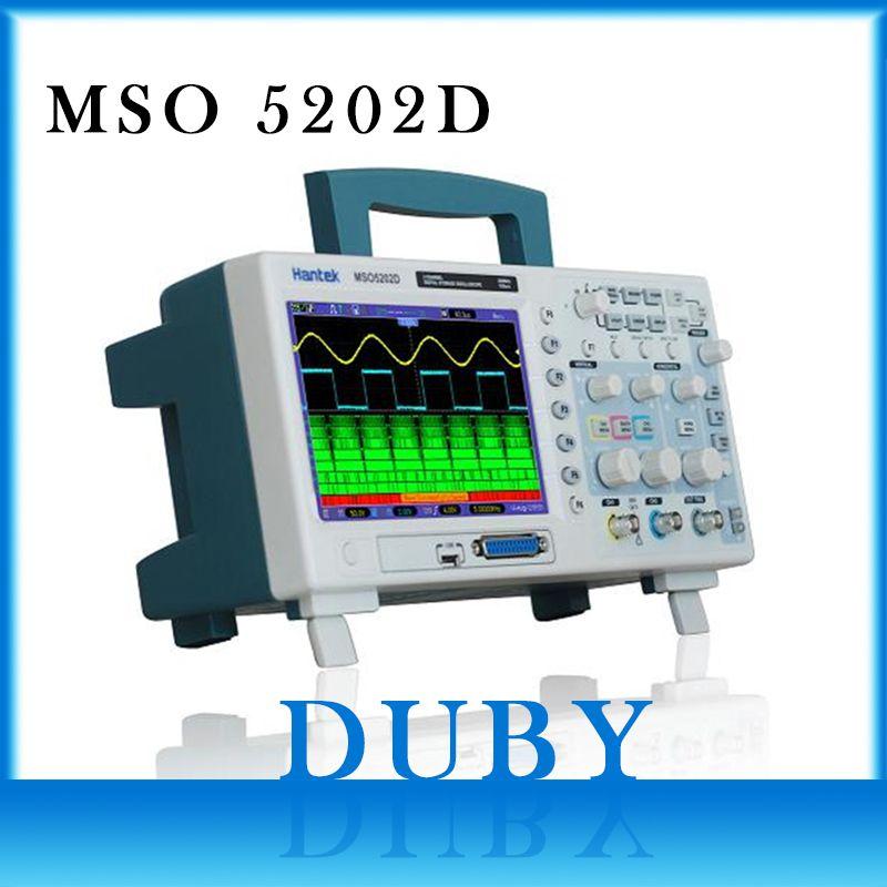 Hantek 200MHz MSO5202D Mixed Signal Digital Oscilloscope 16 Logical Channels+)+2 Analog Channels + External Trigger Channel