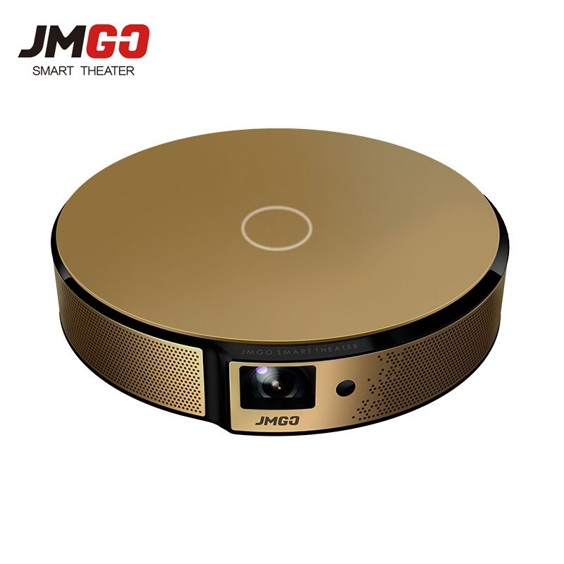 JmGO E8 DLP Projector Smart Home Theater Support 3D 1080P 300 inch Hi-Fi Bluetooth Projector Android WIFI Proyector Beamer