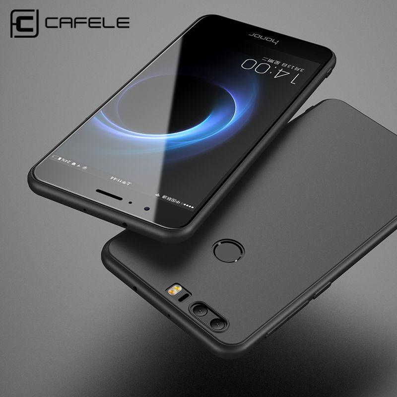 Cafele мягкий чехол для Huawei Honor 8 случаях ТПУ кремния тонкий сзади защитить кожу ультра тонкий телефон чехол для Huawei Honor 8 чехол