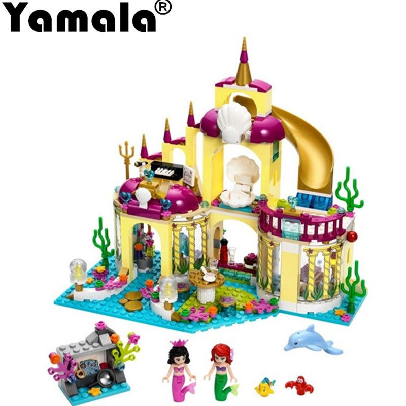 [Yamala] Princess Undersea Palace Girl Friends Building Blocks 402pcs Bricks Toys For Children Compatible With Legoingly Friends
