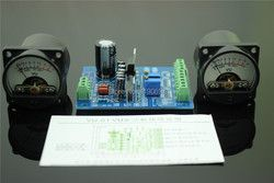 1Set 500VU Panel VU Meter Audio Level Meter 6-12V Audio Level With Warm BackLight Free Shipping