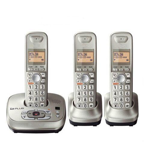 KX-TG4021 Schnurlose dect handys mit Anrufbeantworter hörer schnurlosen digitalen telefon