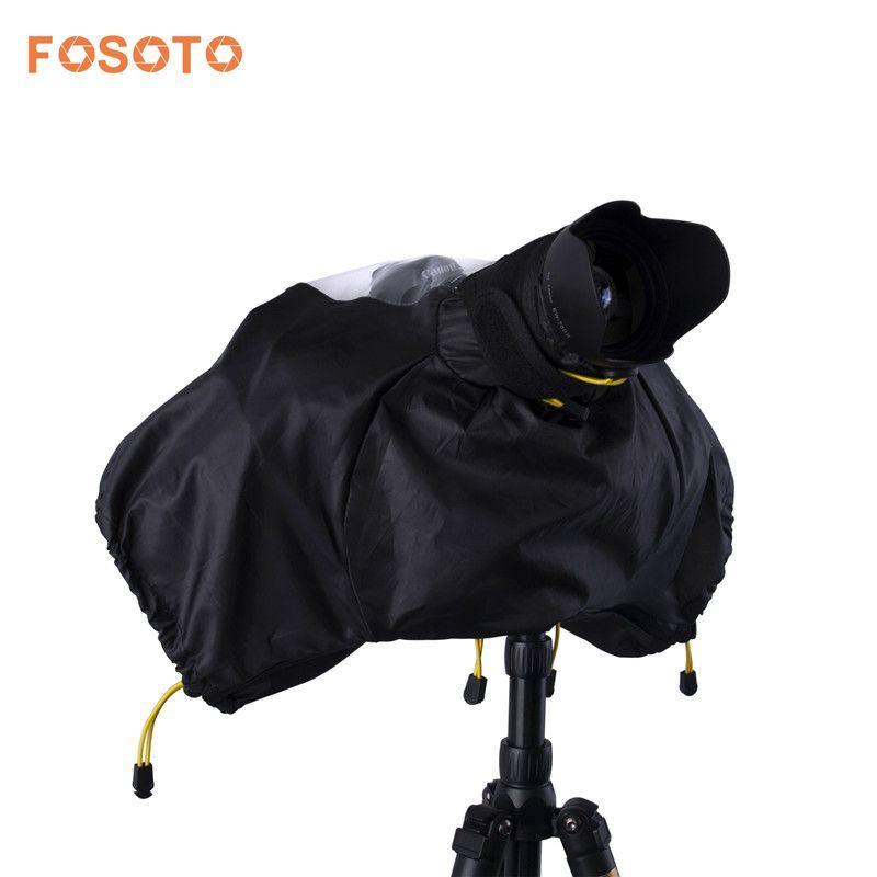 fosoto Camera Cover Waterproof Rainproof Rain Soft Bag Photo Professional Digital Case For Canon Nikon Pendax Sony DSLR Cameras