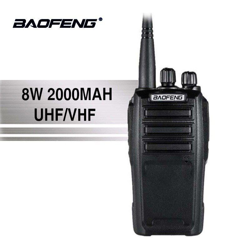 Baofeng UV-6 New Arrival 8w 128 Channels Walkie Talkie High Power Long Standby UHF/VHF Dual Band Two Way Radio Woki Toki 50KM