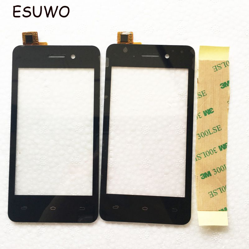 ESUWO Touch Screen Digitizer For Micromax Bolt Q301 Touchscreen Front Glass Capacitive Sensor Panel