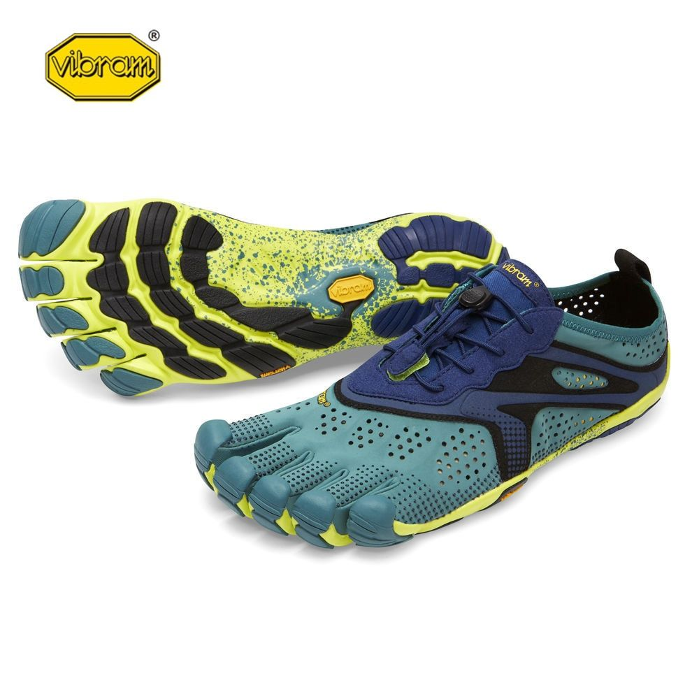 Vibram fivefingers V-RUN Hot Sale Design Rubber with Five Fingers Outdoor Slip Resistant Breathable Light weight Shoe for Men