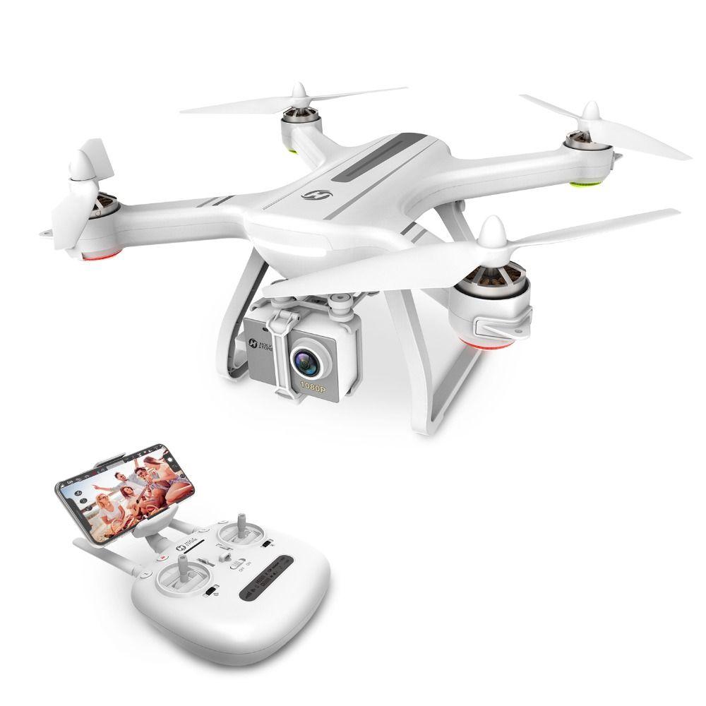 USA Lager Heiligen Stein HS700 1000 meter Flug Palette Bürstenlosen Motor 5G 1080P FHD WIFI FPV GPS Drone 400M FPV GPS RC Hubschrauber