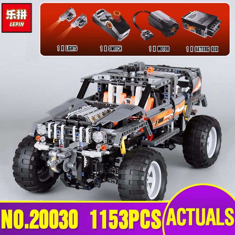 Lepin 20030 Technic Ultimate Series The Off-Roader Set Children Educational Building Blocks Bricks Toys Model Gifts legoing 8297