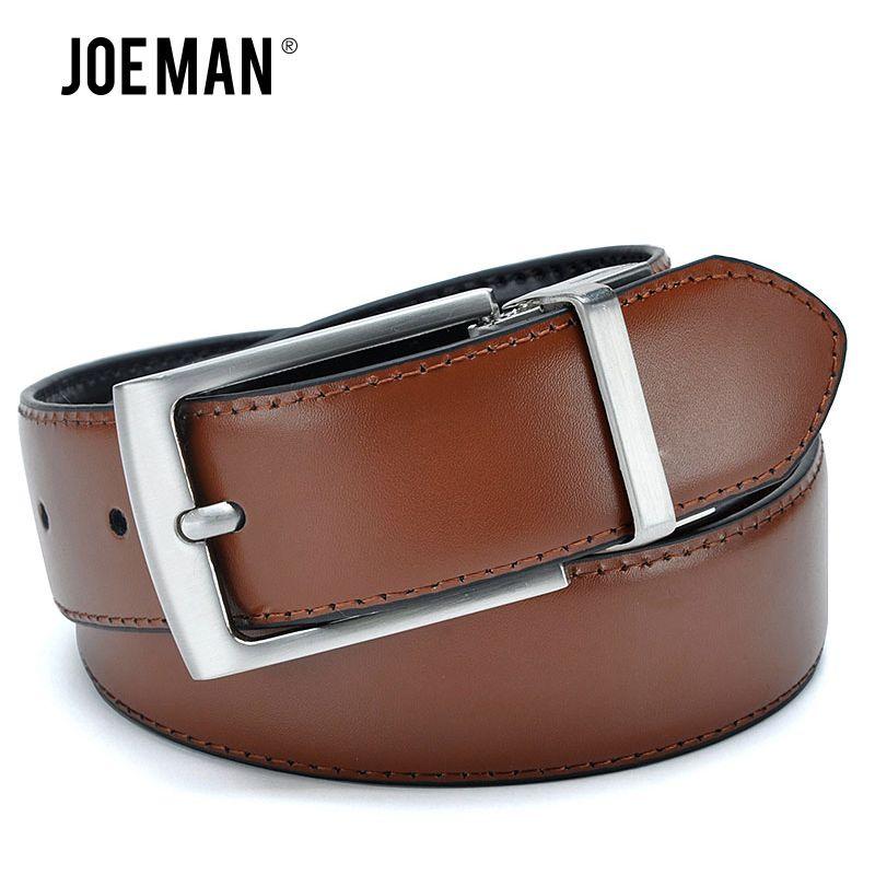 Revolvable ceintures à boucle pour hommes Design de luxe ceintures en cuir de haute qualité couleur marron et couleur noire sur la ceinture