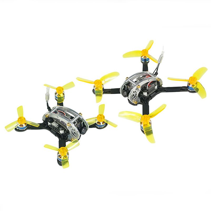 JMT KINGKONG Flyegg 100/130 PNP Indoor FPV Racer Mini Brushless Drone Quadcopter with DSM/2 / XM/FS-RX2A/FM800 RX Receiver