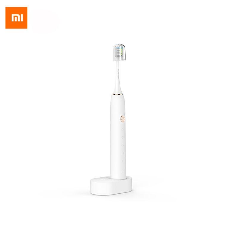 Xiaomi Sonic Soocare X3 Sain Intelligent Électrique Bluetooth Étanche Acoustique WaveTooth Sans Fil Charge À Distance APP