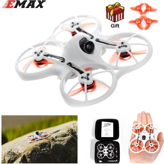 Emax Tinyhawk 75mm F4 Tinyhawk75 Magnum Mini 5.8G FPV Racing With Camera RC Drone 2~3S BNF two pairs free extra 40mm propellers