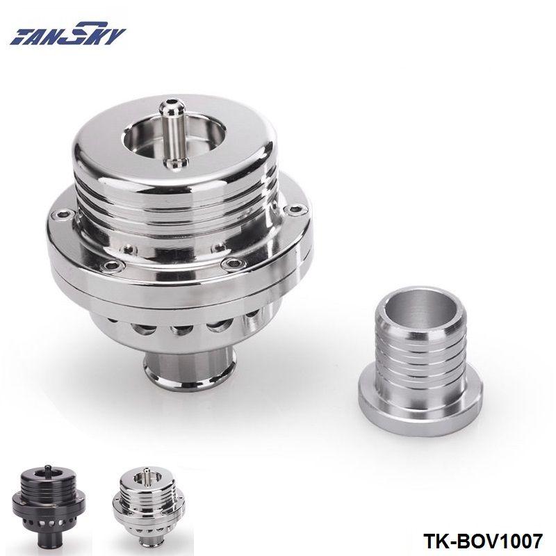 Tansky 25MM Dual Piston BOV Blow off  Turbo For Audi A4 S4 Golf Jetta 25 PSI TK-BOV1007 Silver