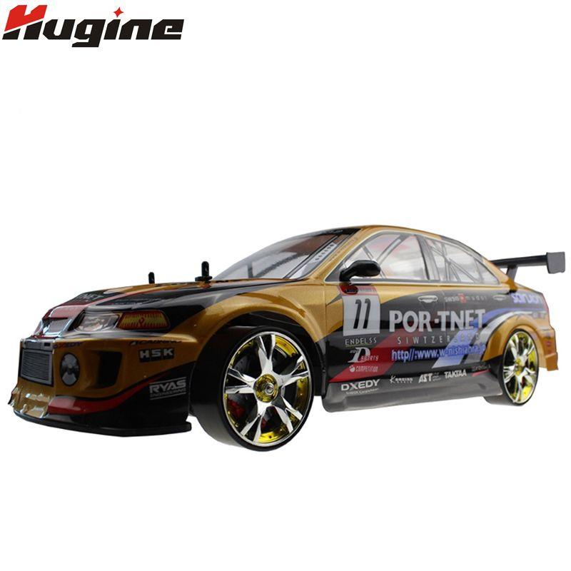 Große RC Auto 1:10 High Speed Racing Auto Für Mitsubishi Championship 2,4G 4WD Radio Control Sport Drift Racing elektronische spielzeug