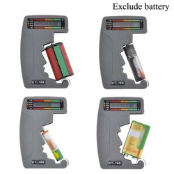 Numérique LCD Batterie Tester Pour Tester 9 V 1.5 V C AA AAA Alcalines Normales Rechargeable Batteries Universel Ménage Batterie Test
