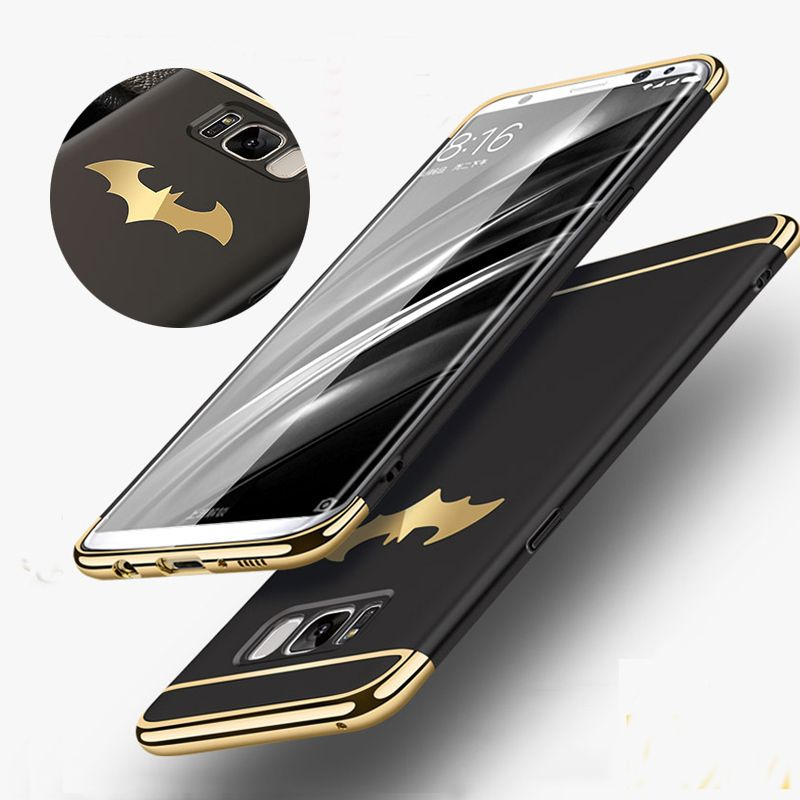New Luxury Batman Phone Case For Samsung Galaxy S8 / S8 Plus Coque PC Hard Back Cover Case For Samsung Galaxy S7/ S7 Edge Note 8