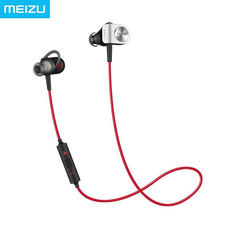 meizu ep51 Sports Running Earphone Wireless Bluetooth Headset In-Ear waterproof aptX with mic Earbuds for apple meizu xiaomi