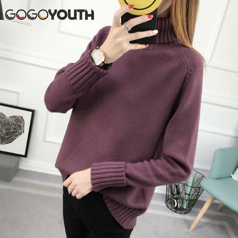 Surmiitro Winter Sweater Women Turtleneck 2018 Long Sleeve Tricot Women Sweaters And Pullovers Female Knitted Jumper <font><b>Jersey</b></font> Tops