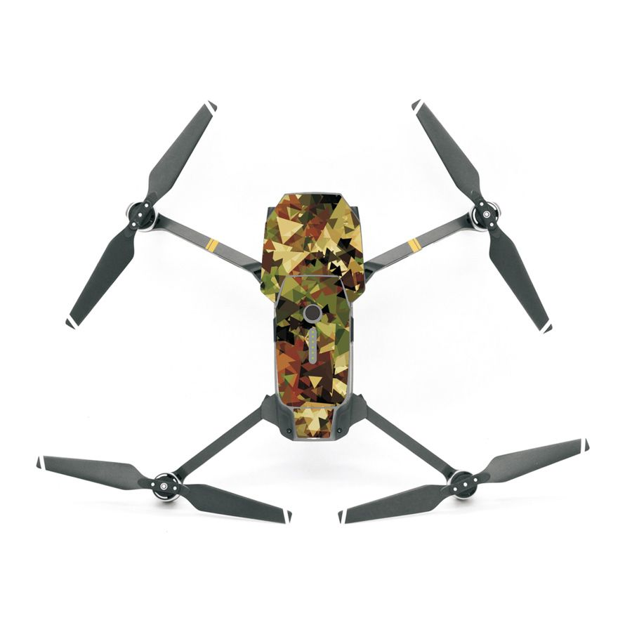Decal Skin Colorful Sticker Accessories for DJI Mavic Pro Drone Many Colors Options F20066/75