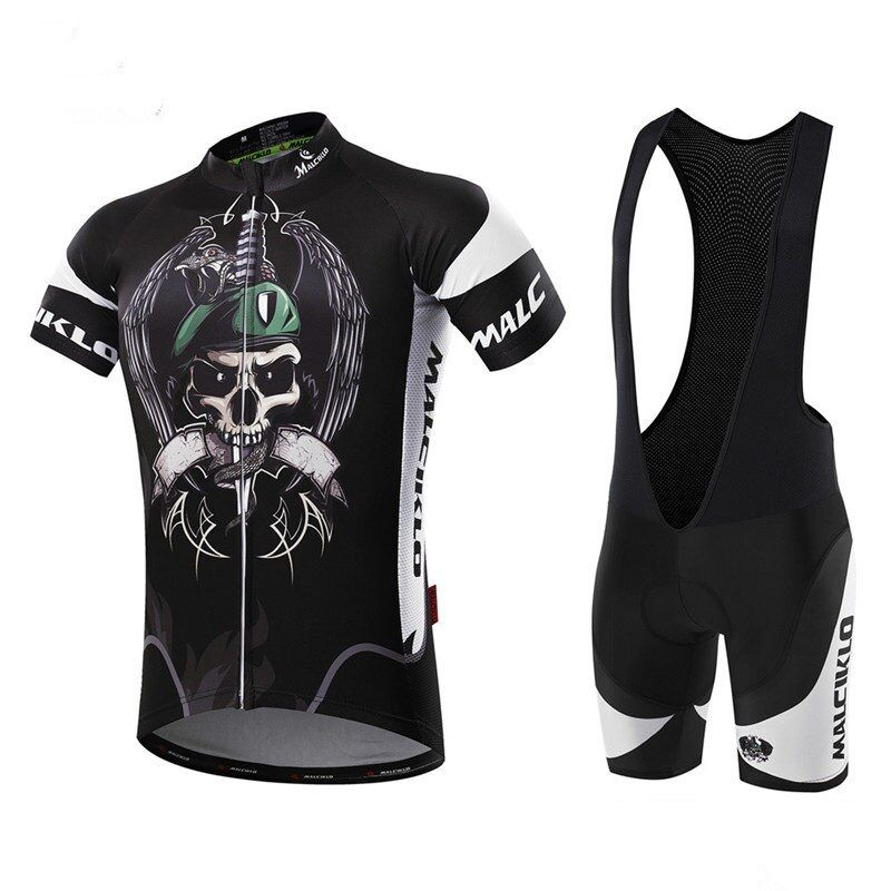 Malciklo 2017 Breathable Cycling Jersey Sets Summer MTB Bicycle Clothing Ropa Maillot Ciclismo Skinsuit Bike Clothes Sportswear