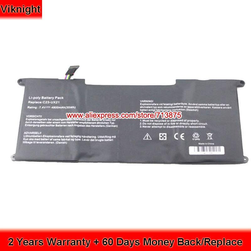 UX21A C23-UX21 Batterie für Asus Zenbook UX21A UX21E ultrabook