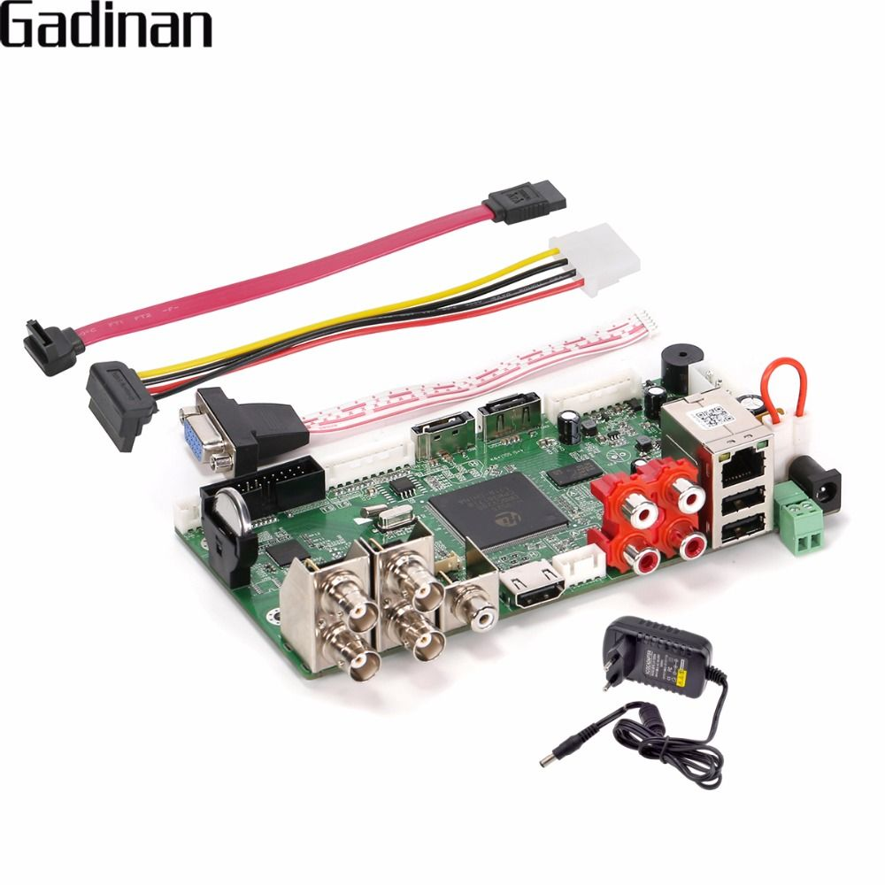 GADINAN CCTV H.264 Hybrid DVR AHD 4CH 1080N/Netzwerk 8CH 1080 P NVR HDMI Hauptplatine DIY Unterstützung AHD/TVI/CVI/CVBS/IP ONVIF XMEye